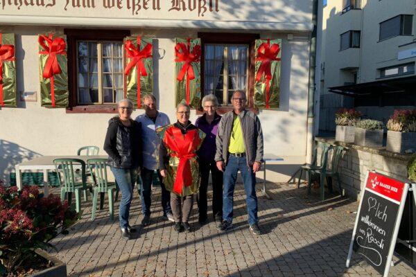 «Rössli Suppe» am 28. November mit Auftakt zur Aktion «Rössli Fenster»