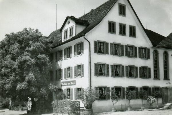 Das Rössli: Ein bedeutendes Haus mit einer langer Geschichte.